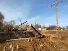 Ход строительства дома № 2 в ЖК Книги - фото 44, Октябрь 2020